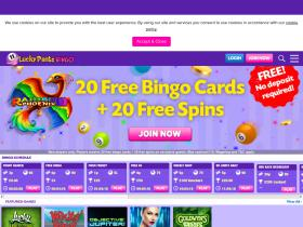 Lucky Pants Bingo Coupons
